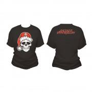 detroit santarchy skull women's t shirt both
