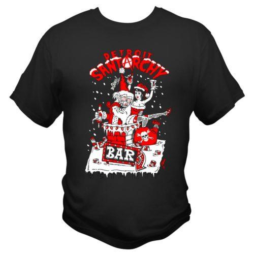 lickered santa men's t shirt