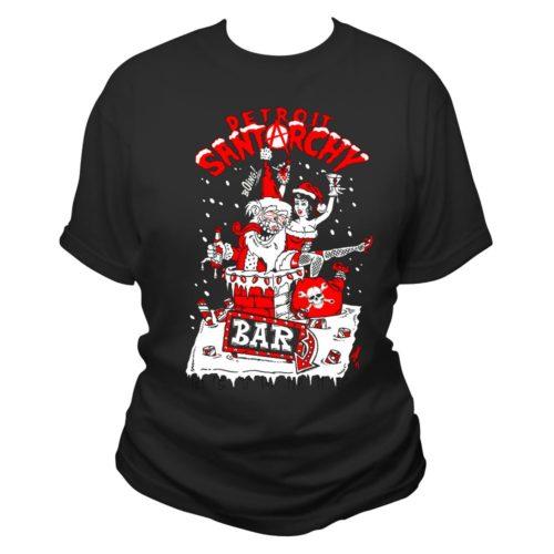 lickered santa women's t shirt