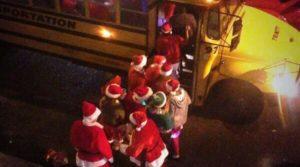 santa on board
